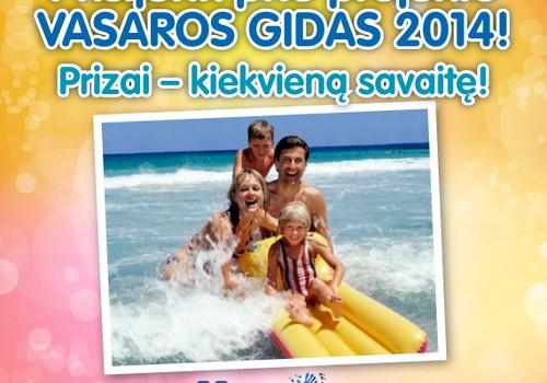 """Prisijunk prie kelionių projekto """"VASAROS GIDAS 2014"""" ir laimėk dovanų kas savaitę!"""
