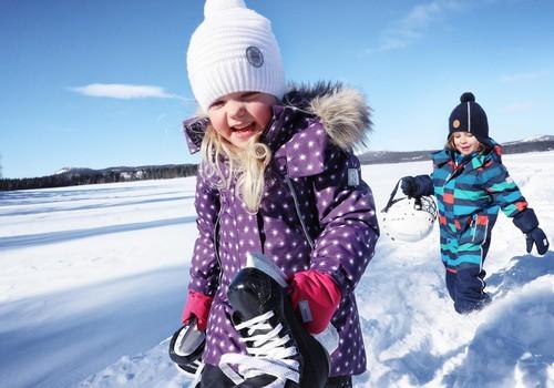 Vaikų lauko drabužiai žiemą: kaip tinkamai pasirinkti?