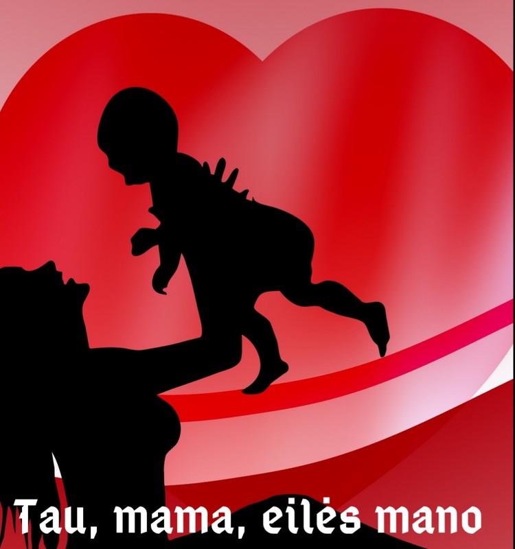 Eilėraščių knyga mamoms. Sveikiname mamas!
