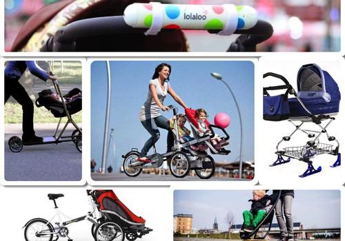 """""""Išradingi"""" vaikiški vežimėliai"""