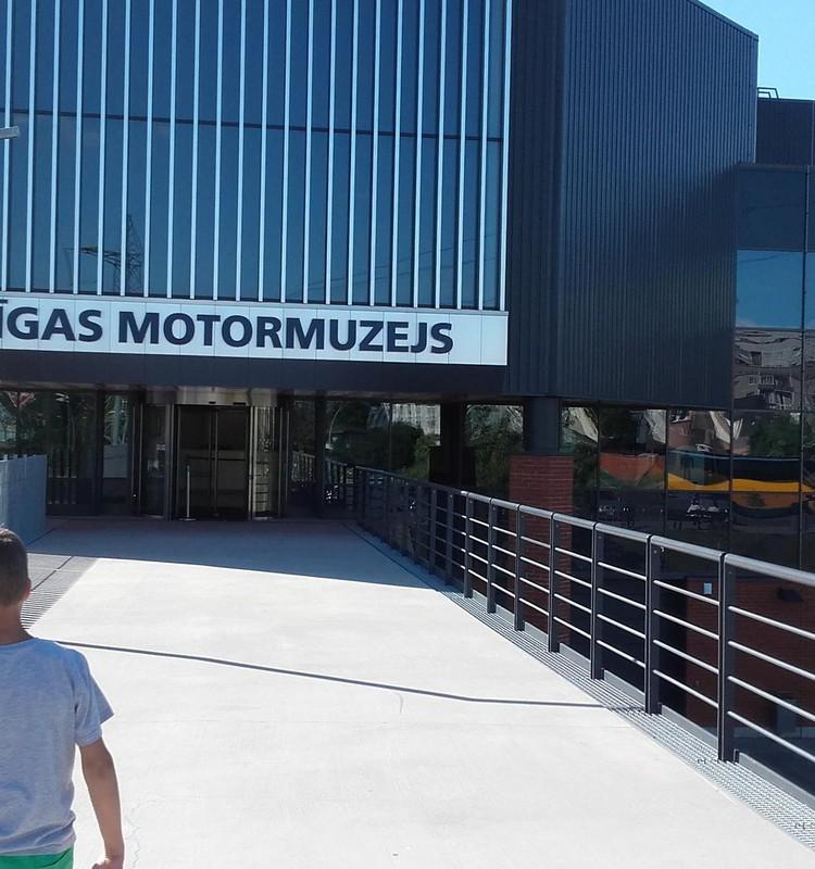 Automobilių muziejus Rygoje