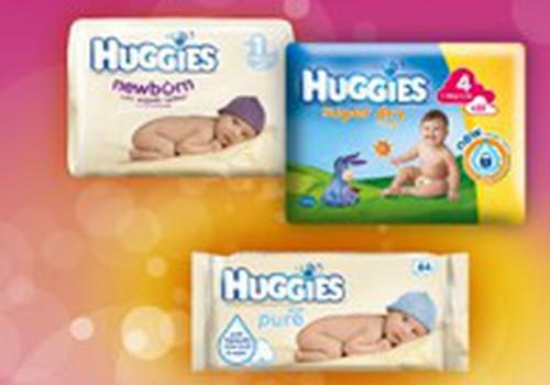 """Vasarį """"Eurovaistinėje"""" Huggies Newborn, Super Dry ir drėgnoms servetėlėms Pure - iki 25 proc. nuolaida!"""