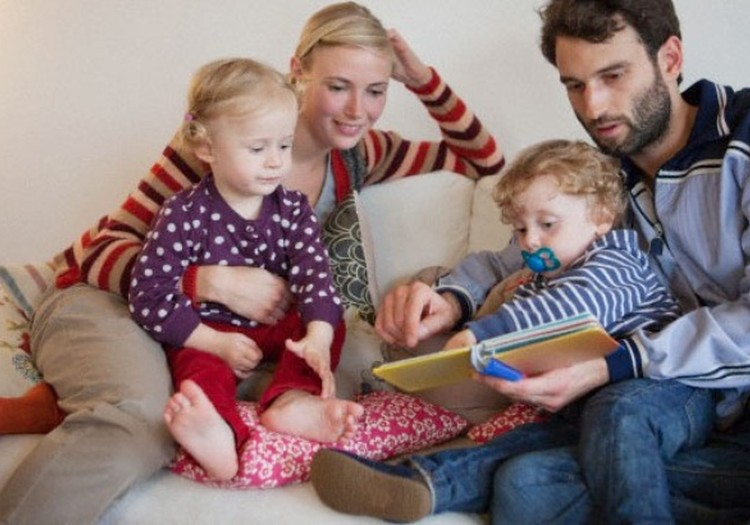 Skaitykime vaikams nuo gimimo