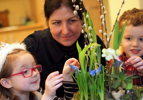 Vaiko ir mamos darželis — žydinti oazė namuose