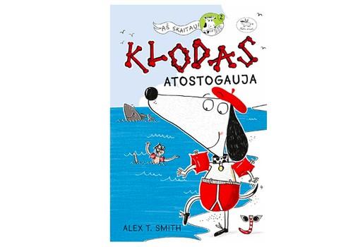 """Knygos konkursas: """"KLODAS atostogauja"""" + laimėtoja"""