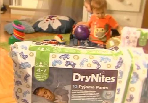 VIDEO: Vaikas šlapinasi į lovytę? Į pagalbą skuba DryNites kelnaitės!