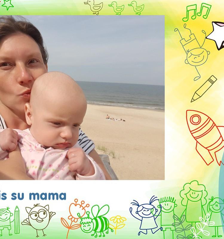 Pirmas selfis su mama :)