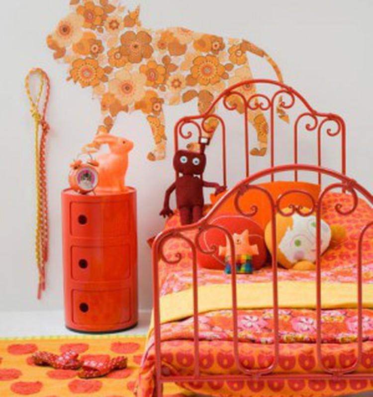 Idėjos įrengiant mergaičių kambarį
