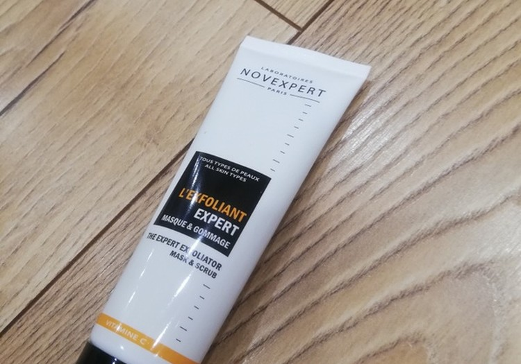 Dar vienas produktas iš Juara.lt  - Novexpert veido kaukė-šveitiklis su vitaminu C