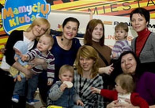 """Mamyčių klubo socialinės atsakomybės akcija """"Mylinčiais delnais"""" startavo!!!"""