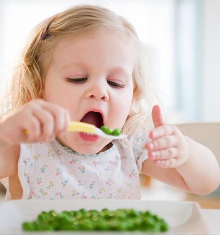 Kaip pagudrauti,  kad vaikas valgytų daržoves
