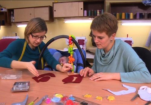 """VIDEO """"Super mažylė"""": siūname batukus"""