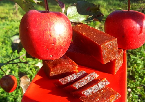 Obuolių sūris - gardus desertas