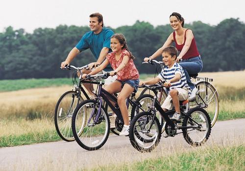 Leiskis į dviračių žygį su šeima