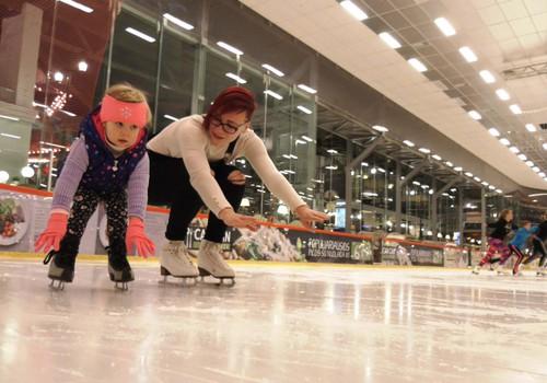 Kiek trunka vaikams išmokti čiuožti ant ledo?