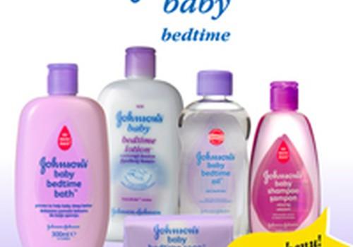 """""""Johnson's Baby"""" rūpinasi mažylio ramiu miegu"""