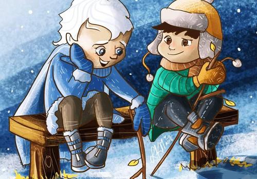 Žiemos pasaka. Sniegis. III dalis