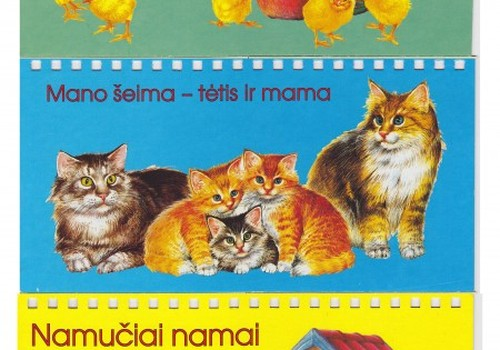 Lavinamosios knygutės su gyvūnais