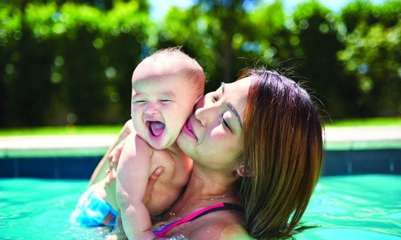 """Geriausi baseinai su vaikais ir apsilankymo """"Atostogų parko"""" laimėtoja"""