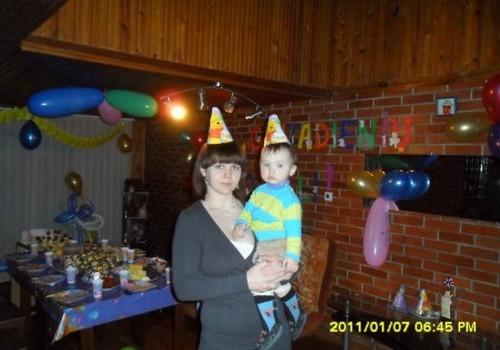 Mūsų ADOMĖLIO pirmasis gimtadienis