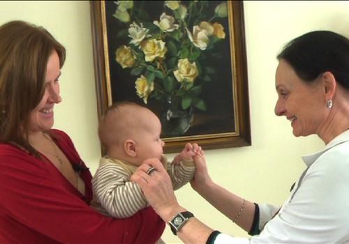Kodėl svarbu kas mėnesį lankytis su kūdikiu pas gydytoją?