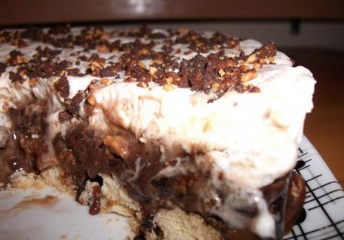 Šokoladinis ledų tortas