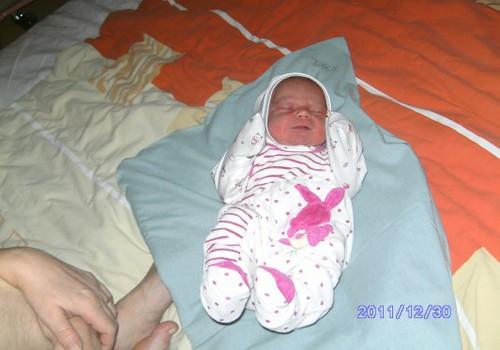 Daivai gimė dukrelė!