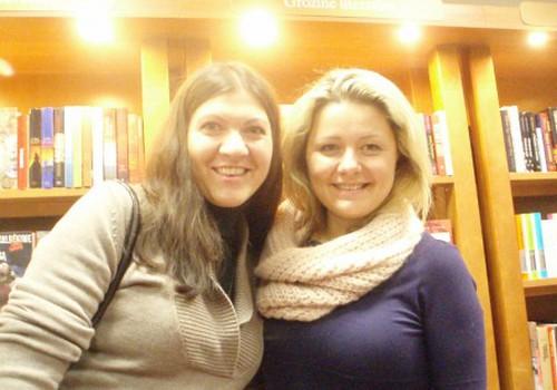 Šiltas ir jaukus susitikimas su Beata Nicholson knygyne Panevėžyje
