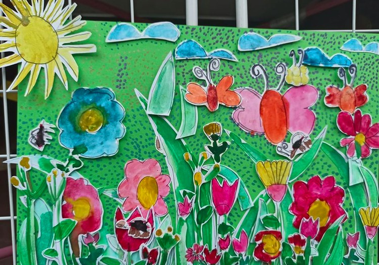 Pavasarinių vaikų piešinių FOTO albumas!