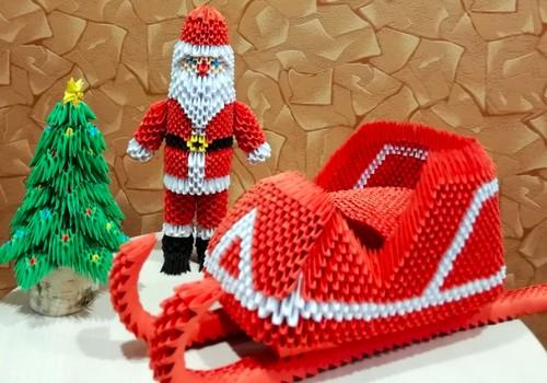 TOKIA MŪSŲ KASDIENYBĖ. Kalėdinė origami eglutė