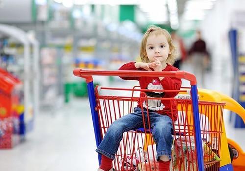 9 taisyklės, einant į parduotuvę su vaikučiu