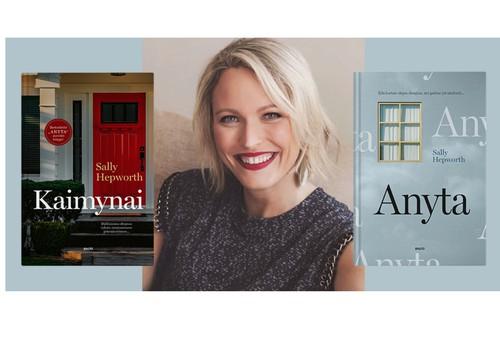 """""""Anytos"""" ir """"Kaimynų"""" autorė: viskas romanų puslapiuose – iš gyvenimo"""