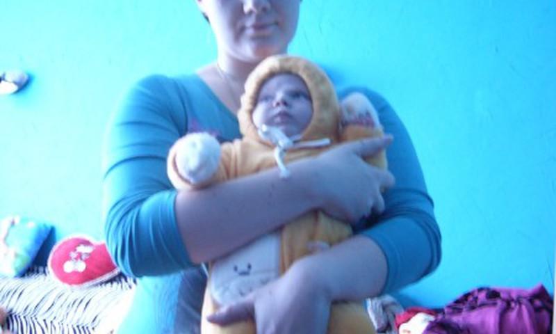 IRINA: Laimė – tai… vaikas ant rankų