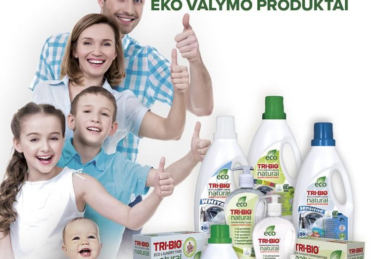 """TRI-BIO EKO skystieji drabužių skalbikliai """"Color"""" ir """"White"""" bei skalbinių minkštiklis – PUIKUS PASIRINKIMAS KIEKVIENAI MAMAI"""