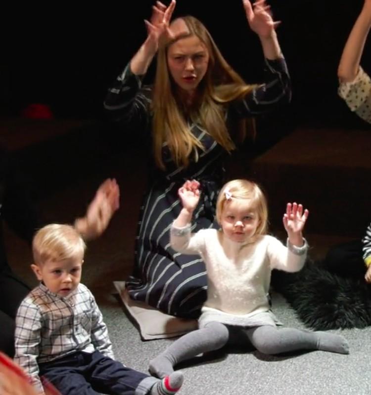 VIDEO: Pažindinkime vaiką su menu nuo mažens