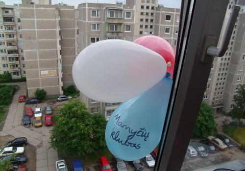 Mūsų namuose šiandien  - tikra balionų šventė!