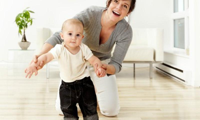 Kineziterapeutė: Mažylis išmoks vaikščioti pats!
