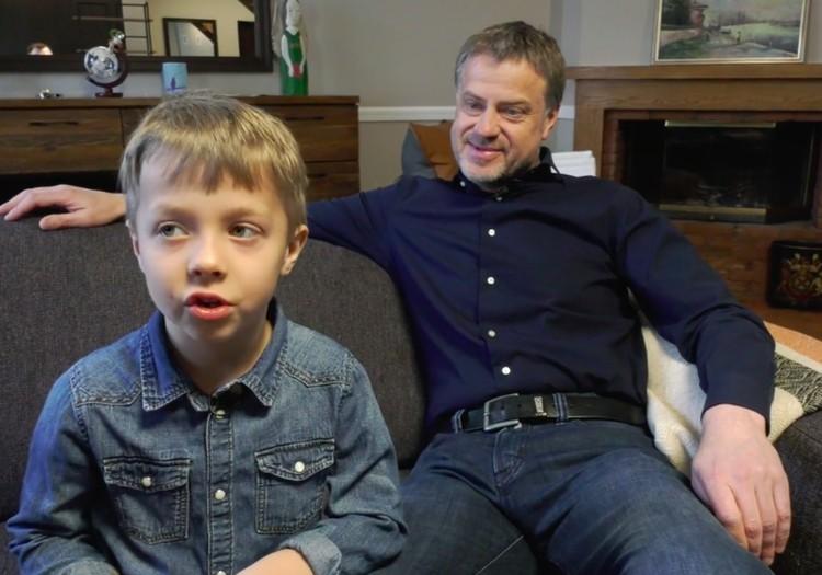 VIDEO: Rolandas Skaisgirys - apie savo vaikystę ir brandžią tėvystę