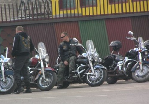 Per motociklininkų paradą Šilutėje buvo ir nukentėjusių