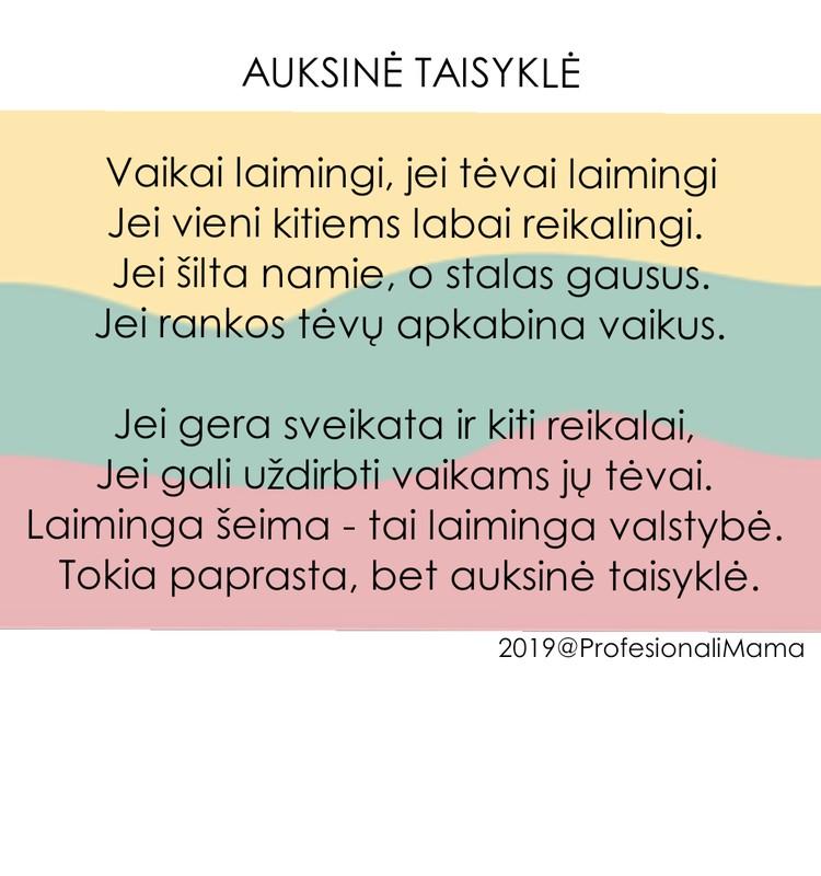 Sveikinimas Lietuvai