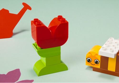 Pasistatyk pats: LEGO® DUPLO® bitutė ir gėlytė