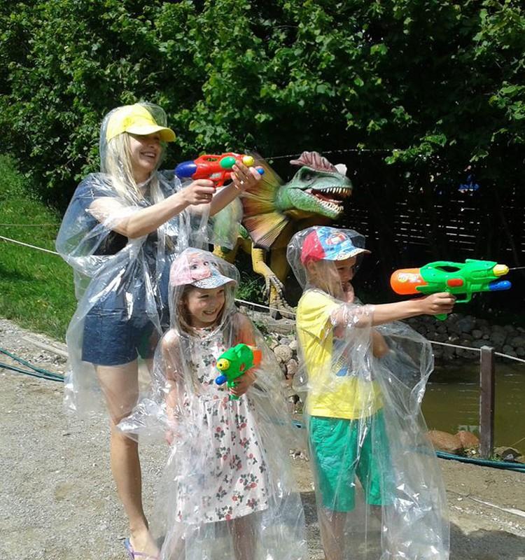 Visi nemokamai į Dino parką liepos 22 dieną !