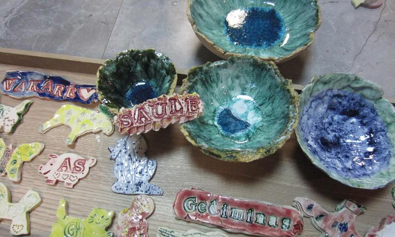 Štai ką mes sukūrėme ADI keramikos studijoje