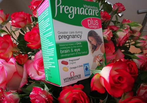 Nėštumo laikotarpis su Pregnacare