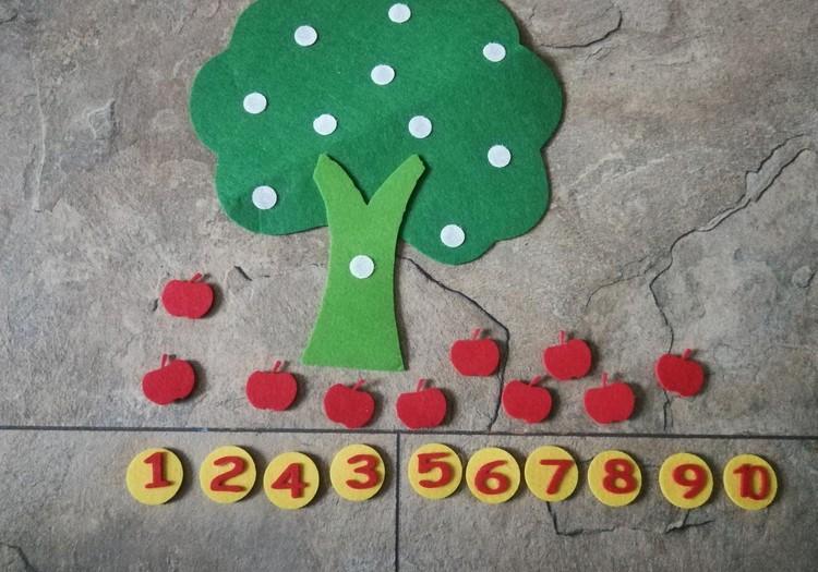 Paprastas būdas išmokti skaičius iki 10