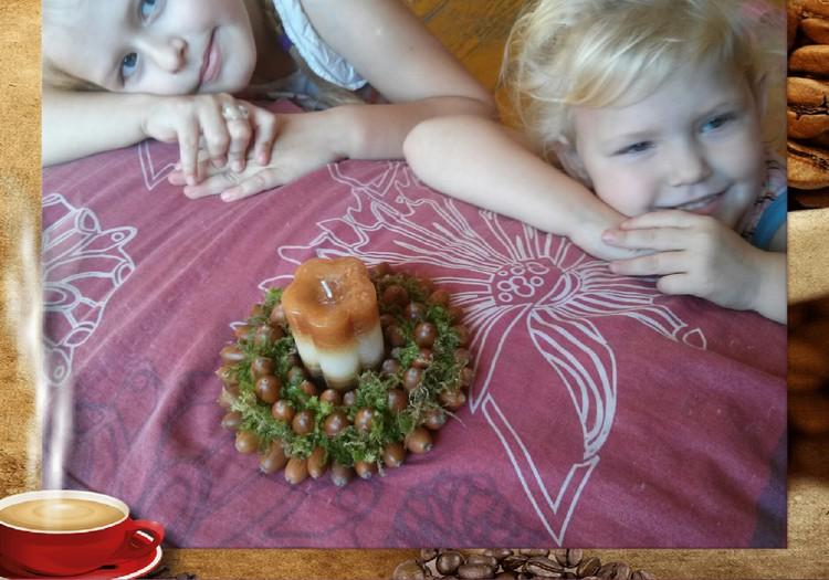 Kuriame iš rudens gėrybių: stalo jaukumui :)