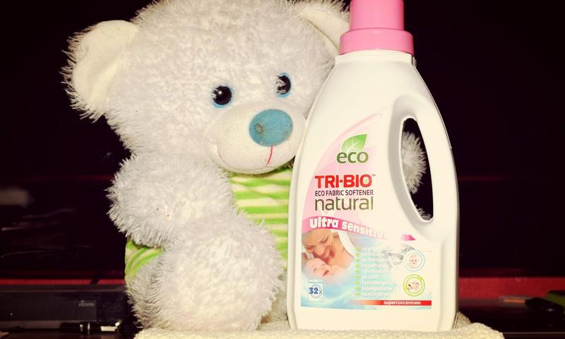 Bandau TRI-BIO produktus: natūralus eko skalbinių minkštiklis
