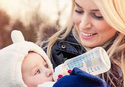 Jei mamai savo pieną reikia pakeisti pieno mišiniu...