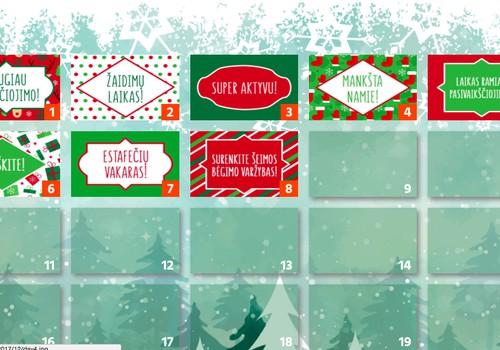 Aktyvus ATLETINO Advento kalendorius