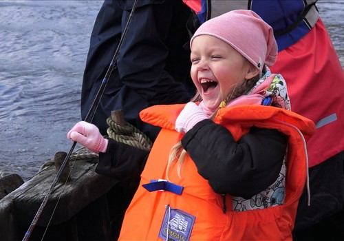 VIDEO: Žvejybos pamokos Rusnėje